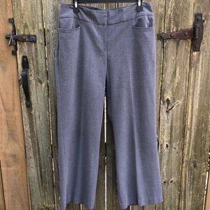 Apostrophe Light Gray Slacks